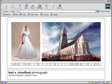 Bart E. Streefkerk / Web Design