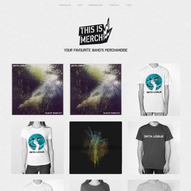 This is Merch! / Online Shop