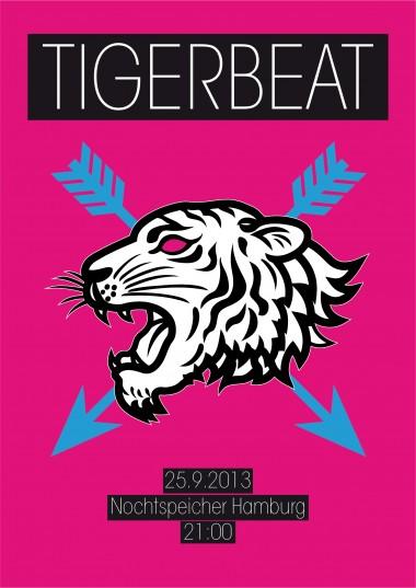Tigerbeat Poster 2013